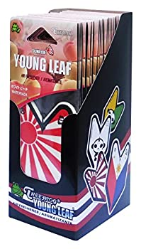Wakaba Young Leaf YLWP93 Japan Tree Frog Peach Scents JDM Air Freshener White 1 Box 24 Piece