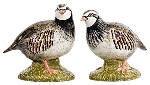 Quail Ceramics Perdiz de sal & pimienta Shakers