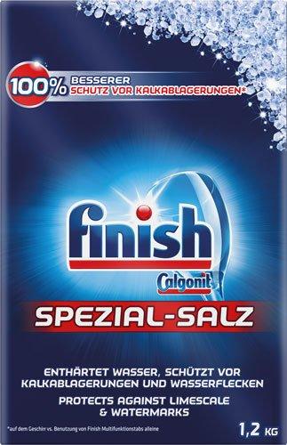 8x finish Calgonit - Spezialsalz - 1200g