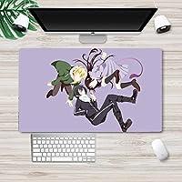 ノラガミデスクトップパッドアニメマウスパッドゲーミングキーボードパッド大型コンピューターパッドプレイマット滑り止めパッドデスクパッド テーブルマット 5 (90×40)