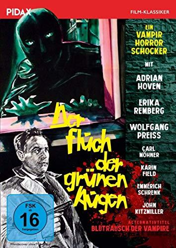 Der Fluch der grünen Augen (Blutrausch der Vampire) / Gruselfilm mit Starbesetzung (Pidax Film-Klassiker)