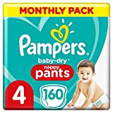 Pampers Baby-Dry pantalones, Talla 4 ((9-15 kg/8-14 kg), 1 p