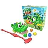 Goliath Games Gator Play-at-Home Minigolf, Spiel für Kinder ab 4 Jahren, 27 x 27 x 12,5 cm -