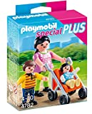 PLAYMOBIL Especiales Plus- Mother with Children Especial mamá con niños, Multicolor (4782)