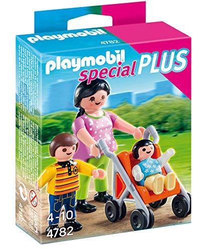 PLAYMOBIL Especiales Plus Especial mamá con niños (4782)