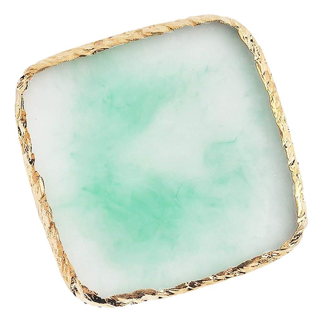 騒ぎ世論調査物足りないB Baosity ネイルアート イング カラー パレット ミキシングパレット 6色選べ - 緑