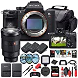 Sony Alpha a7R IV Mirrorless Digital Camera (Body Only) (ILCE7RM4/B) + Sony FE 24-70mm Lens + 64GB Memory Card + 2 x NP-FZ-100 Battery + Corel Photo Software + Case + External Charger + More (Renewed)