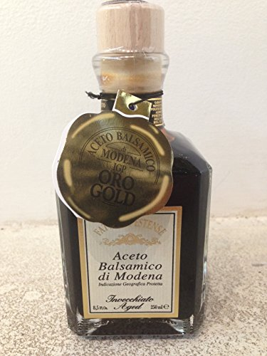 Fattoria Estense Balsamic Vinegar Gold Label (1 X 8.5 OZ)
