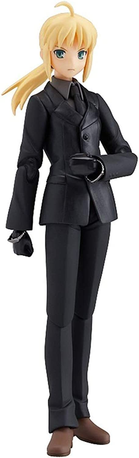 Siyushop Fate Zero  Saber Figma Action Figure  Highly Detailed Sculpt  Equipped With Weapons  High 15CM