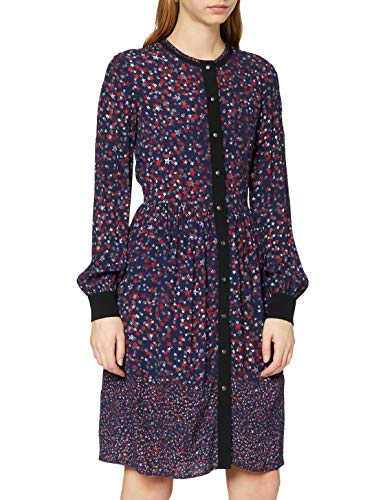 Liebeskind Damen H1172200 Kleid, Mehrfarbig (Pigm. Blue Multi Stars Print F 56C4), 38