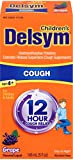 Delsym Children's 12 Hr Cough Relief Liquid, Grape, 5oz