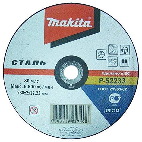 Makita p-52233–Trennscheiben für Metall 230mm x 2.0mm