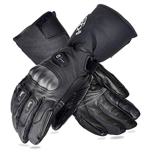 BARCHI HEAT 12V HeatedGloves,Men Women Motorcycle Gloves,ElectricRechargeableBatteryHeated Cycling Glovesfor Rayauds Arthritis Hand,WinterColdWeatherGlovesHandWarmers forBikers