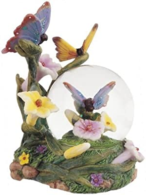 Snow Globe Butterfly Collection Desk Figurine Decoration