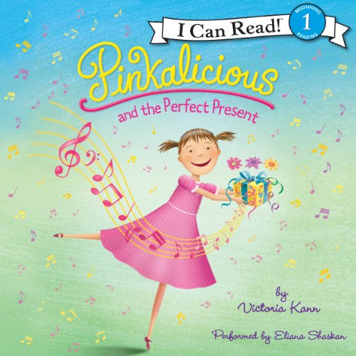 Pinkalicious and the Perfect Present audiobook cover art