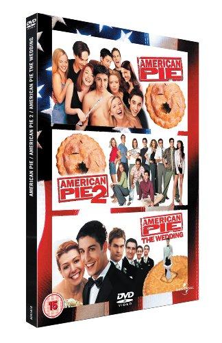 American Pie / American Pie 2 / American Pie - The Wedding Dvd [Edizione: Regno Unito] [Italia]