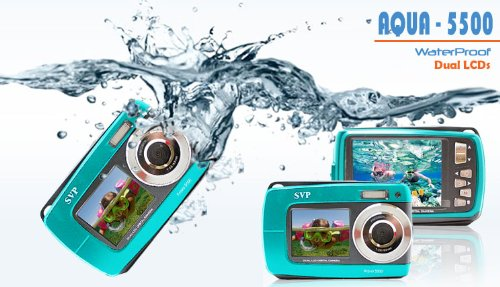 SVP 18 Megapixel Digital Camera Series (Aqua5500-bluecolor)