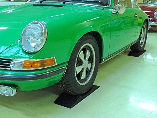 4 Stück Reifenschuh, Reifenwiege, Reifenschoner, Reifenbett ca. 200mm breit für Reifen bis 195er Breite