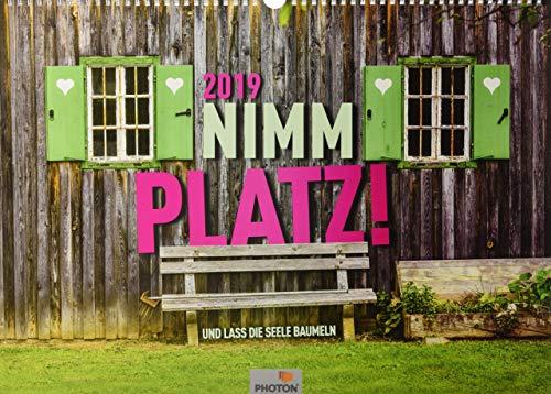 NIMM PLATZ! Kalender 2019: UND LASS DIE SEELE BAUMELN
