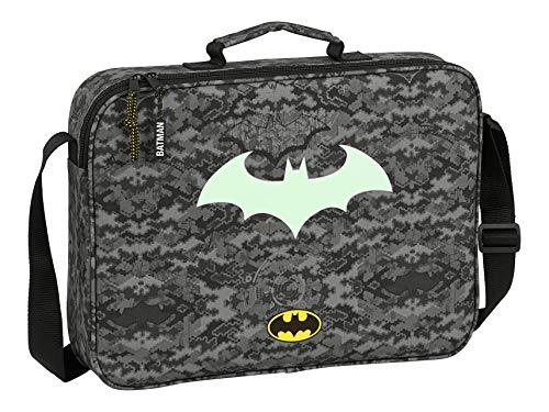 Safta 612004385 Cartera Extraescolares de Batman Night, 380x60x280mm