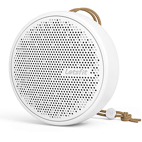 Letsfit Portable White Noise Machine for Sleeping, 20 Soothing Soundtracks Sound Machine for Baby, Built-in Battery Support 70 Hours Playtime, Compact Design for On-The-Go Use & Travel, White