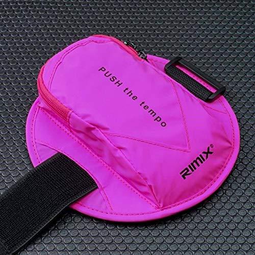 Cinturón de brazo universal transpirable Deportes Correr Cubierta de brazo móvil Bolsa de teléfono móvil al aire libre Adecuado para teléfonos móviles dentro de 6.2 pulgadas IPhone X XS Max 8 Plus
