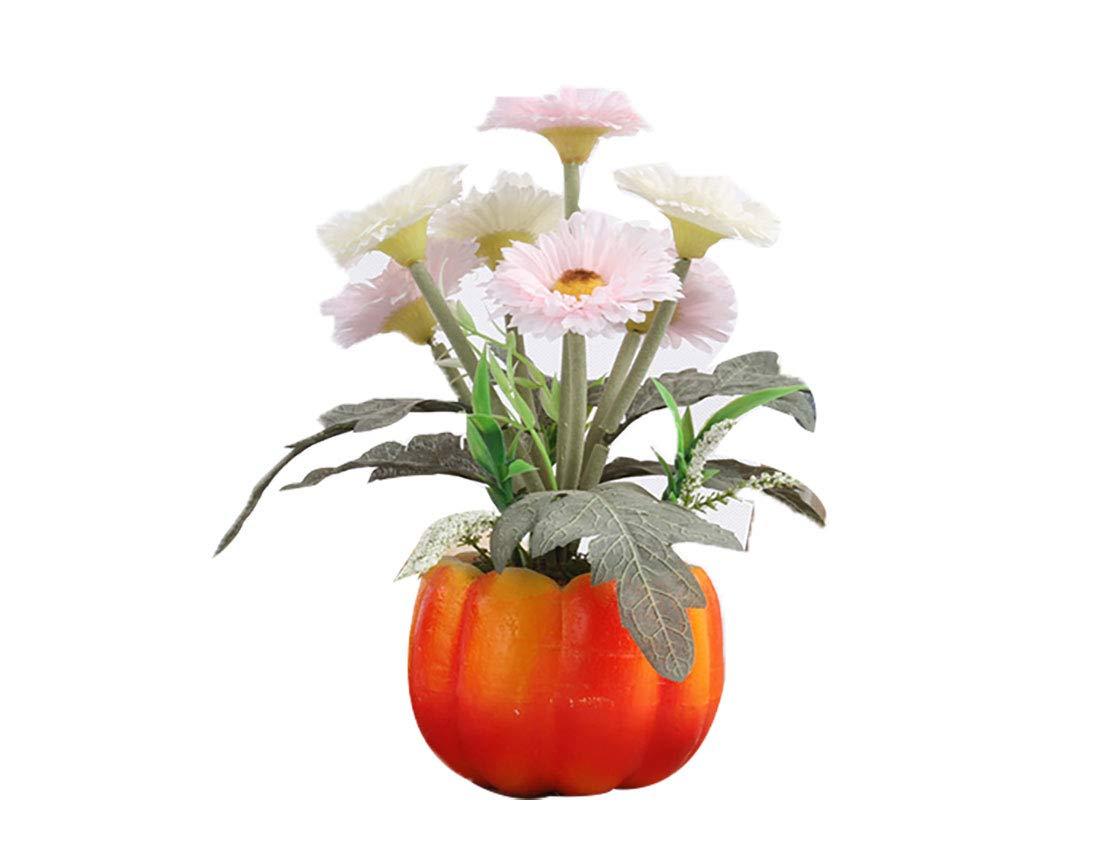 1Pc Artificial Plant Bonsai Stage Garden Props Hanging Flowers DIY Wedding Bouquets Party Home Decorations Orange LOadSEcrs Fakeflowers Decor