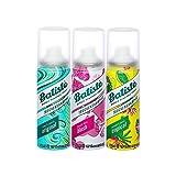Batiste Shampooing sec, Format Pocket, pour tous les types de cheveux, 2 + 1 lot de 3 (3 x 50 ml)