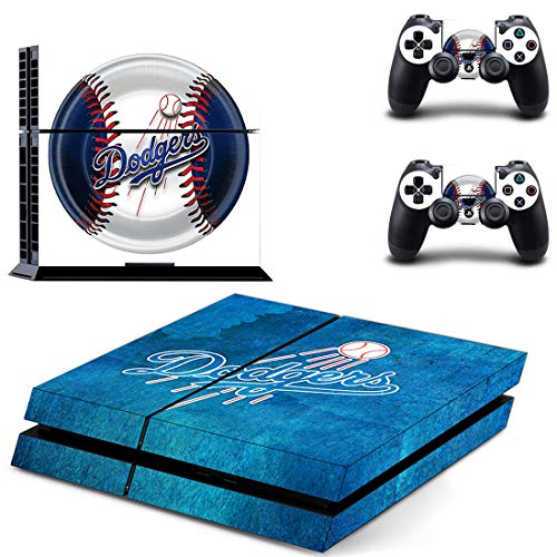 Baseball Team - PS4 Skin Console and 2 Controller, Vinyl Decal Sticker Full Cover Protective by BALAKRISHNA THAKUR