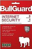 Bullguard Internet Security 2019 - Lizenz für 1 Jahre 3 Geräte! Windows|MacOS|Android [Online...