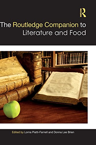 The Routledge Companion to Literature and Food