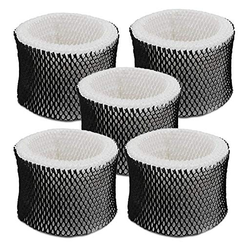 Eagles 5 Packs HWF64 Humidifier Filter, Replacement Humidifier Wick Filters Compatible with Holmes Filter B,Sunbeam and Bionaire Humidifiers
