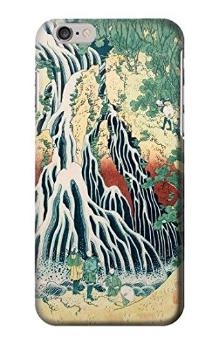 Hokusai Kirifuri Waterfall at Kurokami Mountain in Shimotsuke Case Cover Custodia per IPHONE 6 6S