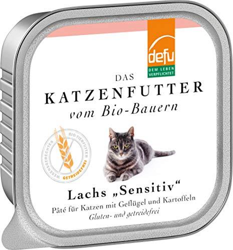 defu Katze Lachs Sensitive Pâté