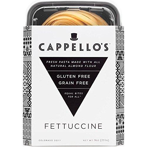 Cappello's Gluten-Free Fettuccine - 9 Ounces (Pack of 6)