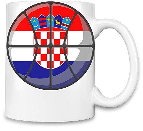 Croatia Basketball Kaffee Becher