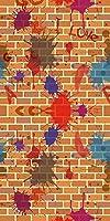 GladsBuy Stained壁10' x 20'コンピュータ印刷写真バックドロップテーマ壁背景lmg-222