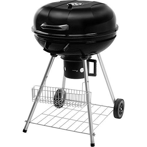 Fieldmann 41001519 FZG 1004 Barbecue au Charbon Noir 58,5 x 58,5 x 29,3 cm