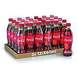 Coca-Cola Original Taste 660 ml x24 (Bottiglia Pet Riciclabile)...