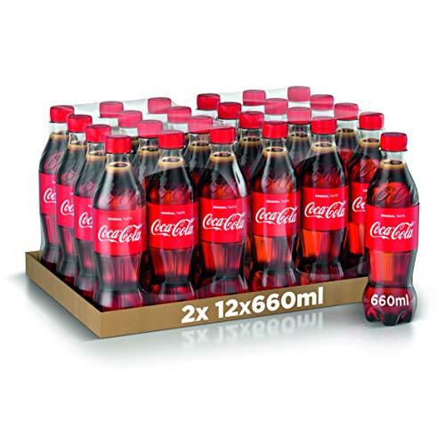 Coca-Cola Original Taste 660 ml x24 (Bottiglia Pet Riciclabile)