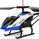 WGFGXQ Avión de Control Remoto RC Helicóptero de 3,5 Canales con luz LED Gyro Carga eléctrica Drone Juguete de Regalo para Adultos y niños