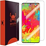 Skinomi Full Body Skin Protector Compatible with Samsung Galaxy S20 Ultra (6.9 inch)(Screen Protector + Back Cover) TechSkin Full Coverage Clear HD Film