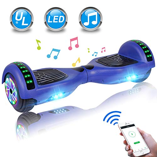 Cheapest Prices! UNI-SUN Hoverboard for Kids, Self Balancing Scooter 6.5 Two-Wheel Self Balancing H...