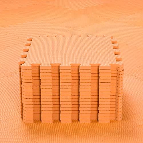 qqpp 18 Puzzle Bodenschutzmatte - Schutzmatte Set Puzzlematte Bodenschutz rutschfest Matte | Fitnessmatte Turnmatte Sportmatte Trainingsmatte Yogamatte | Spielteppich Baby | Sport Fitness. QQC-Bb18N