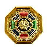 ZHBH Espejo Feng Shui Espejo Chino Bagua Feng Shui Pabellón Espejo de chismes Espejo...
