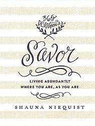 Savor by Shauna Niequist - Summer Reading List