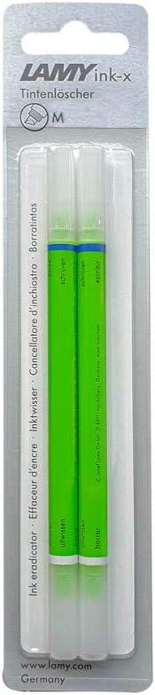 LAMY Borrador de tinta ink-x verde punta biselada F