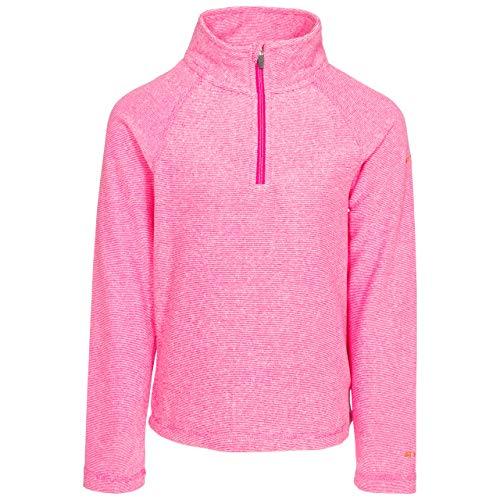 Trespass Meadows - Forro Polar para niña (140 g/m²), Not Applicable, Prados, Niñas, Color Rosa Lady, tamaño 11-12 años