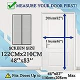 Zoom IMG-1 thefitlife zanzariera magnetica per porte