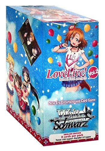 Weiß Schwarz 'Booster Display Love Live! Vol.2 Card Game (Pack of 20)